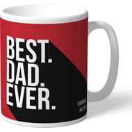 Personalised Middlesbrough Best Dad Ever Mug