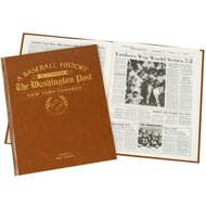 Personalised New York Yankees Baseball Newspaper Book