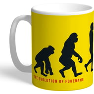 Personalised Watford Evolution Mug
