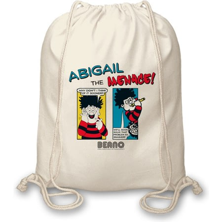 Personalised Beano Classic Comic Strip Problem Solved Drawstring Bag