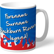 Personalised Blackburn Rovers FC Legend Mug
