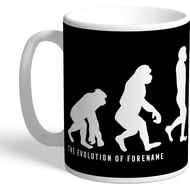 Personalised Derby County Evolution Mug