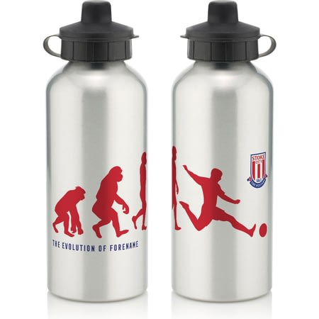 Personalised Stoke City Evolution Water Bottle