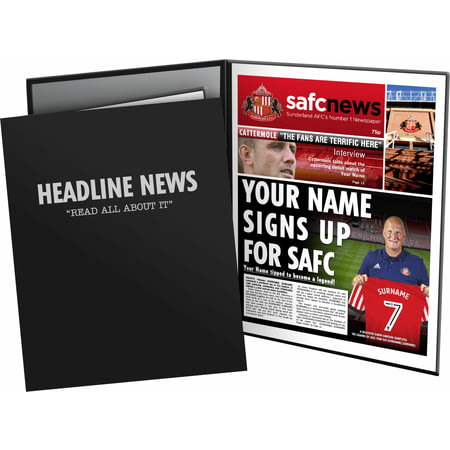 Personalised Sunderland AFC News Folder