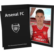 Personalised Arsenal FC Koscienlny Autograph Photo Folder