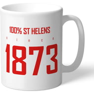 Personalised St Helens 100 Percent Mug