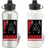 Personalised Star Wars Vader Pop Art Aluminium Aluminium Sports Water Bottle