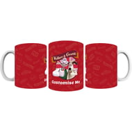 Personalised Wallace And Gromit Thumbs Up Mug