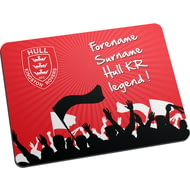 Personalised Hull Kingston Rovers Legend Mouse Mat