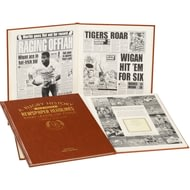 Personalised Challenge Cup Rugby League Newspaper Book