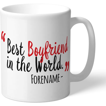 Personalised Sunderland AFC Best Boyfriend In The World Mug