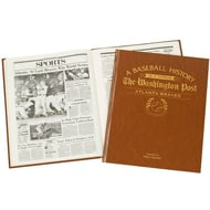 Personalised Atlanta Braves Baseball Newspaper Book