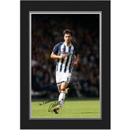 Personalised West Bromwich Albion FC Yacob Autograph Photo Folder