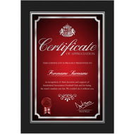 Personalised Sunderland AFC No1 Fan Certificate Folder