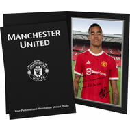 Personalised Manchester United FC Greenwood Autograph Photo Folder