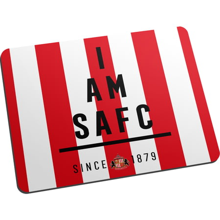 Personalised Sunderland AFC I Am Mouse Mat