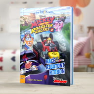 Personalised Disney's Mickey And The Roadster Racers Story Book