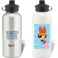 Personalised Powerpuff Girls Blossom Cloud Water Bottle