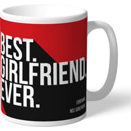 Personalised Southampton Best Girlfriend Ever Mug