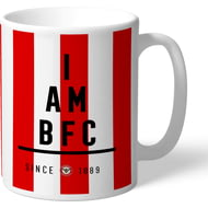 Personalised Brentford I Am Mug