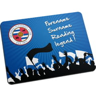 Personalised Reading FC Legend Mouse Mat
