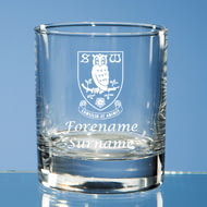 Personalised Sheffield Wednesday FC Crest Whisky Glass