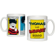 Personalised Beano Classic Comic Strip Problem Solved Ceramic Mug