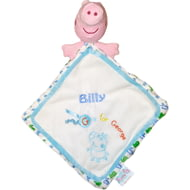Personalised Peppa Pig George Pig Comfort Blanket