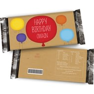 Personalised Happy Birthday Chocolate Bar For Him