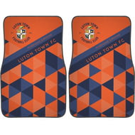 Personalised Luton Town FC Patterned Front Car Mats