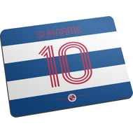 Personalised Reading FC Retro Shirt Mouse Mat