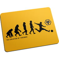 Personalised Wolverhampton Wanderers FC Evolution Mouse Mat