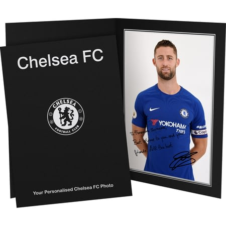 Personalised Chelsea FC Cahill Autograph Photo Folder
