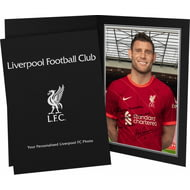 Personalised Liverpool FC Milner Autograph Photo Folder
