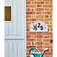 Personalised Pet House Plaque