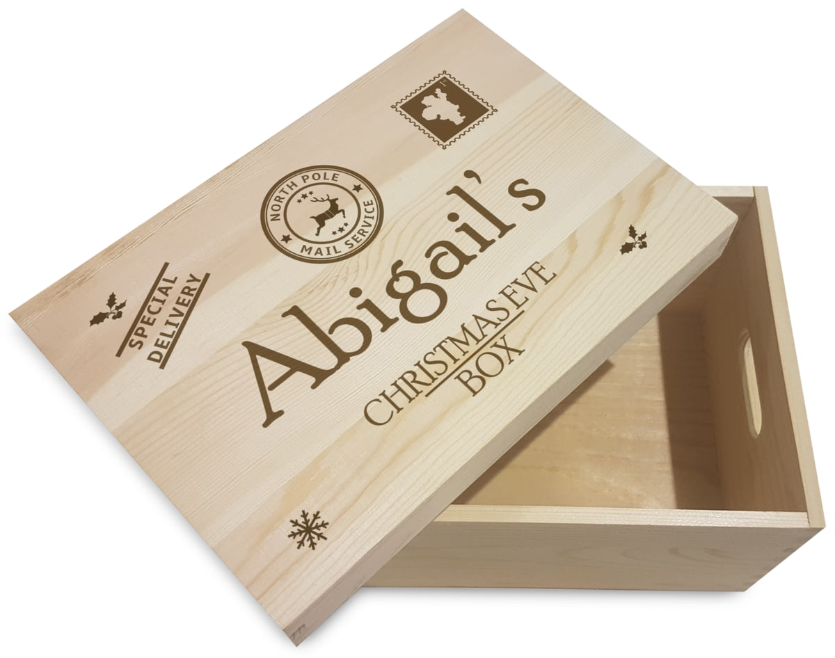 🎁Buy your Personalised Special Delivery Wooden Christmas Eve Box ...