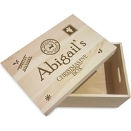 Personalised Special Delivery Wooden Christmas Eve Box