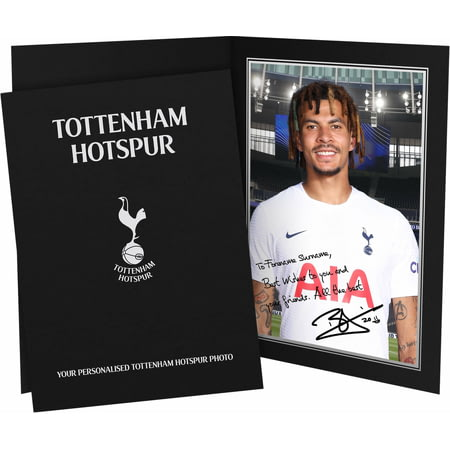 Personalised Tottenham Hotspur FC Alli Autograph Photo Folder