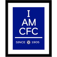 Personalised Chelsea FC I Am Framed Print