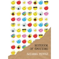 Personalised The Ultimate Emotion-icon Notebook