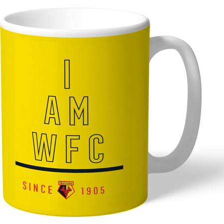 Personalised Watford I Am Mug