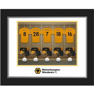 Personalised Wolves FC Dressing Room Photo Folder