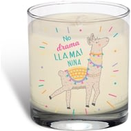 Personalised No Drama Llama Rose Scented Candle