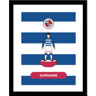 Personalised Reading FC Player Figure Framed Print