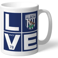 Personalised West Bromwich Albion Love Mug
