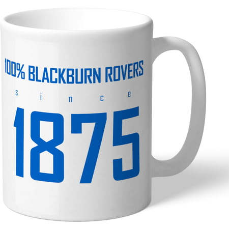 Personalised Blackburn Rovers FC 100 Percent Mug
