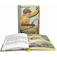 Personalised The Husband Classic Ladybird Book