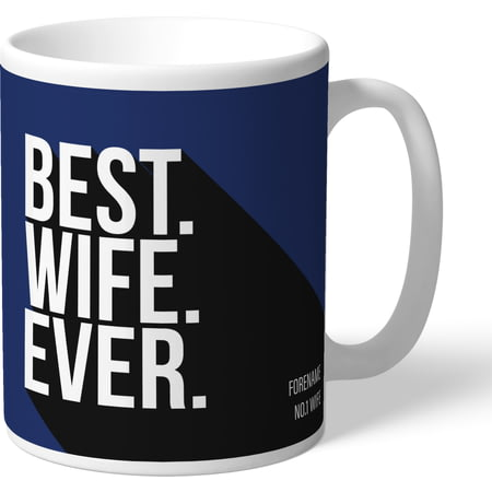 Personalised West Bromwich Albion Best Wife Ever Mug