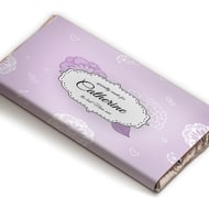 Personalised Best Ever Floral Chocolate Bar