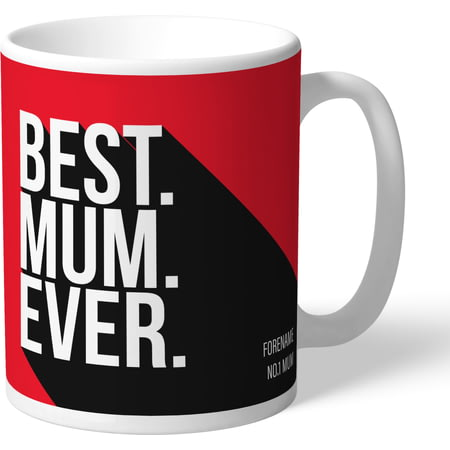Personalised Nottingham Forest Best Mum Ever Mug